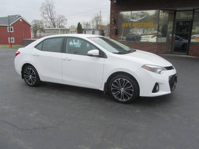 2016 Toyota Corolla for sale at Key Motors in Mechanicville NY