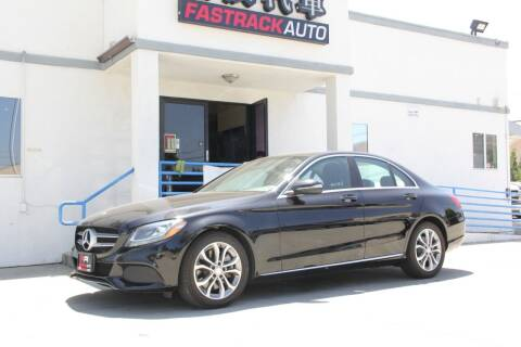 2015 Mercedes-Benz C-Class for sale at Fastrack Auto Inc in Rosemead CA