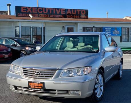 2006 Hyundai Azera for sale at Executive Auto in Winchester VA