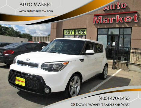2016 Kia Soul for sale at Auto Market in Oklahoma City OK