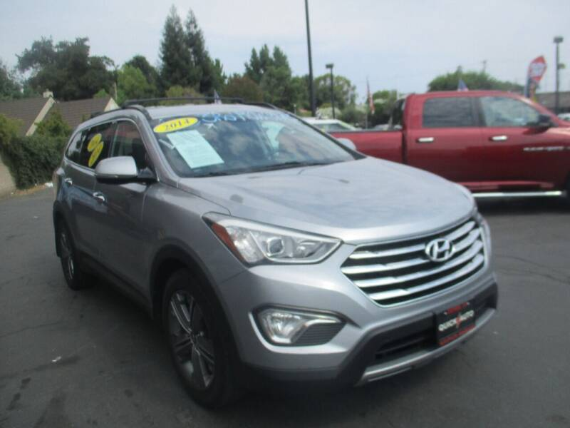 2014 Hyundai Santa Fe for sale at Quick Auto Sales in Modesto CA