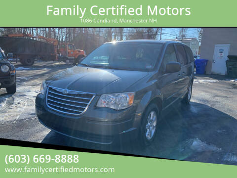 2010 Chrysler Town and Country for sale at Family Certified Motors in Manchester NH