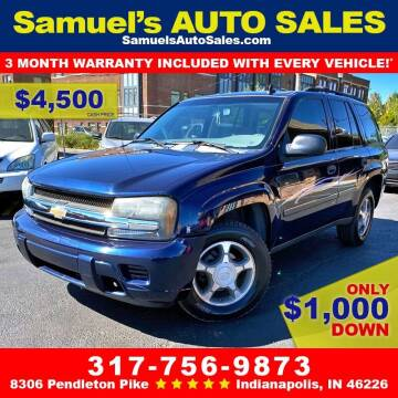2007 Chevrolet TrailBlazer for sale at Samuel's Auto Sales in Indianapolis IN