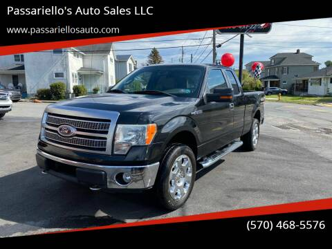 2010 Ford F-150 for sale at Passariello's Auto Sales LLC in Old Forge PA