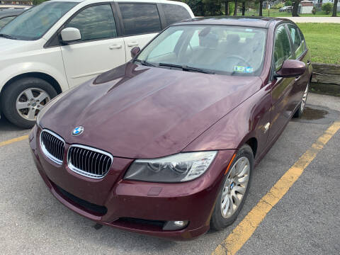 2009 BMW 3 Series for sale at BURNWORTH AUTO INC in Windber PA
