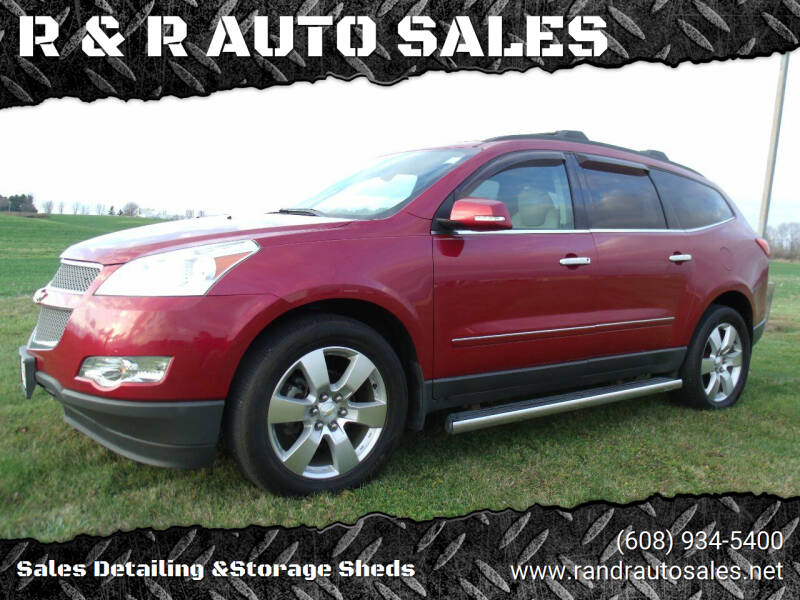 2012 Chevrolet Traverse for sale at R & R AUTO SALES in Juda WI