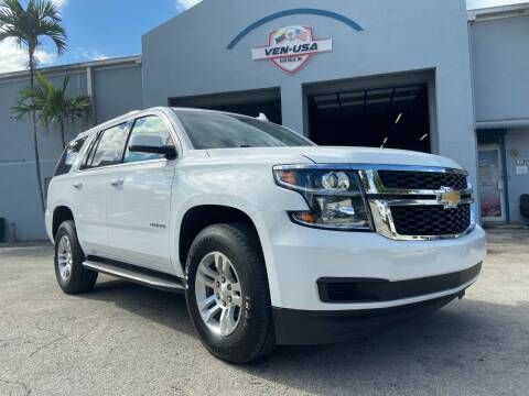 2018 Chevrolet Tahoe for sale at Ven-Usa Autosales Inc in Miami FL