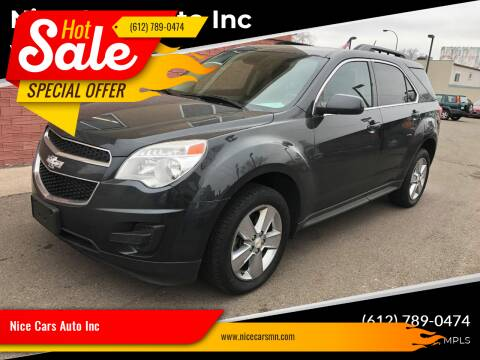 2013 Chevrolet Equinox for sale at Nice Cars Auto Inc in Minneapolis MN