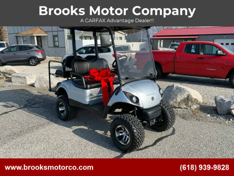 2011 Yamaha G29 gas golf cart for sale at Brooks Motor Company in Columbia IL