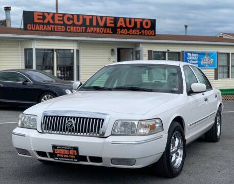 2007 Mercury Grand Marquis for sale at Executive Auto in Winchester VA