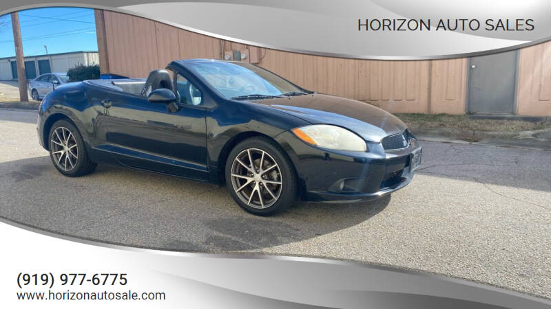 2011 Mitsubishi Eclipse Spyder for sale at Horizon Auto Sales in Raleigh NC