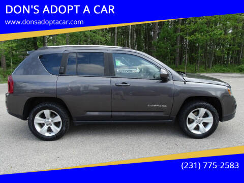 2016 Jeep Compass for sale at DON'S ADOPT A CAR in Cadillac MI