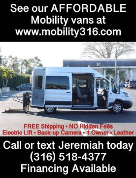 2015 Ford Transit Passenger for sale at Affordable Mobility Solutions, LLC - Mobility/Wheelchair Accessible Inventory-Wichita in Wichita KS