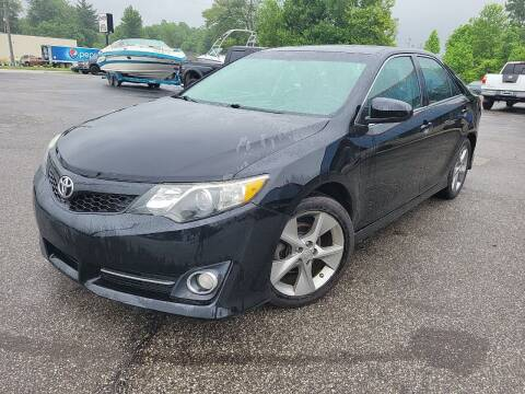 2012 Toyota Camry for sale at Cruisin' Auto Sales in Madison IN