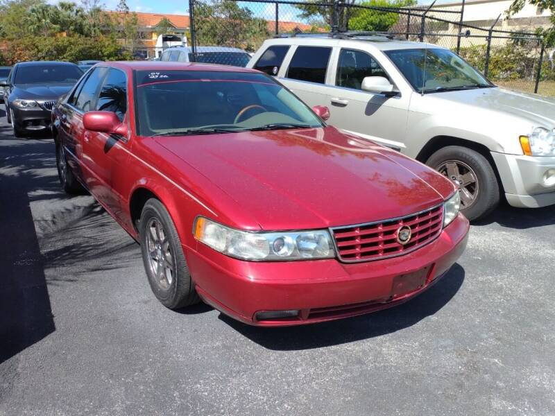 2004 Cadillac Seville for sale at LAND & SEA BROKERS INC in Deerfield FL
