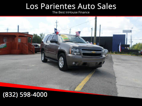 2013 Chevrolet Tahoe for sale at Los Parientes Auto Sales in Houston TX