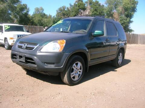 2003 Honda CR-V for sale at HORSEPOWER AUTO BROKERS in Fort Collins CO