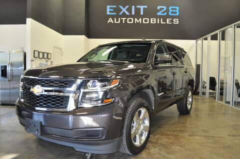 2015 Chevrolet Tahoe for sale at Exit 28 Auto Center LLC in Cornelius NC