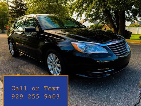 2012 Chrysler 200 for sale at Ultimate Motors in Port Monmouth NJ
