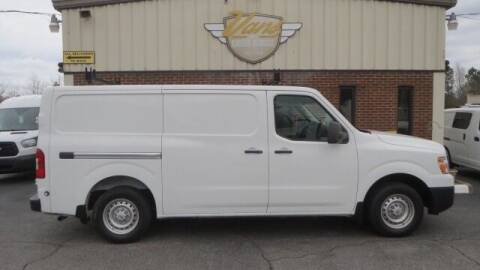2017 Nissan NV Cargo for sale at Vans Of Great Bridge in Chesapeake VA