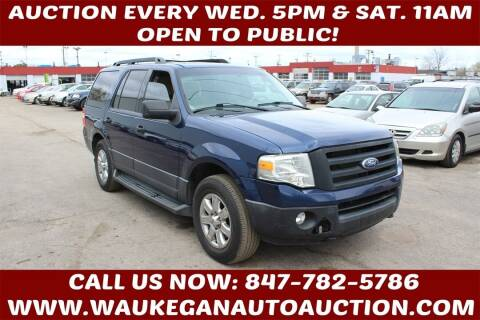 2010 Ford Expedition for sale at Waukegan Auto Auction in Waukegan IL
