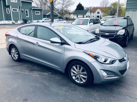 2015 Hyundai Elantra for sale at SHEFFIELD MOTORS INC in Kenosha WI