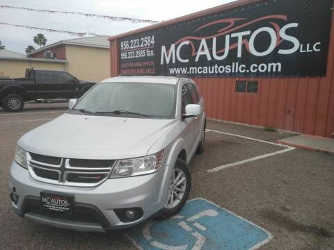 2013 Dodge Journey for sale at MC Autos LLC in Pharr TX