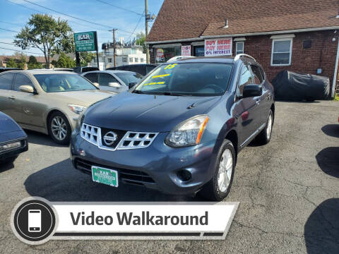 2015 Nissan Rogue Select for sale at Kar Connection in Little Ferry NJ