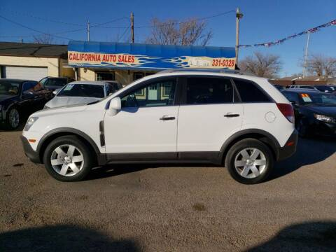 2012 Chevrolet Captiva Sport for sale at California Auto Sales in Amarillo TX