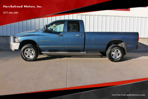 2005 Dodge Ram Pickup 2500 for sale at Harchelroad Motors, Inc. in Wauneta NE