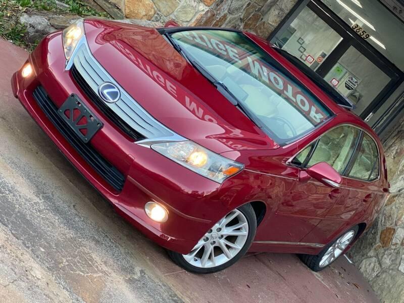 2010 Lexus HS 250h for sale at Atlanta Prestige Motors in Decatur GA