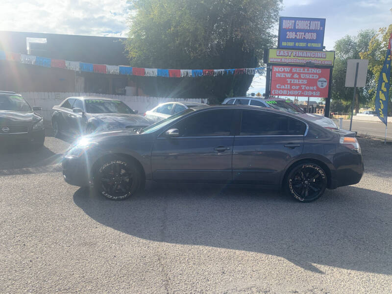 2012 Nissan Altima for sale at Right Choice Auto in Boise ID