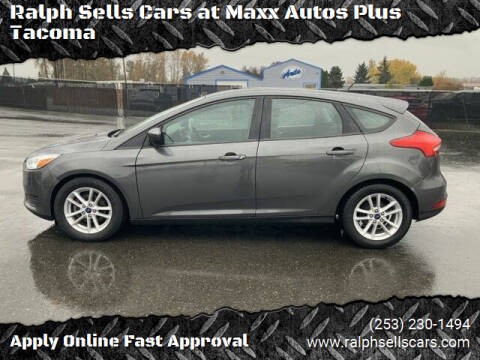2018 Ford Focus for sale at Ralph Sells Cars at Maxx Autos Plus Tacoma in Tacoma WA