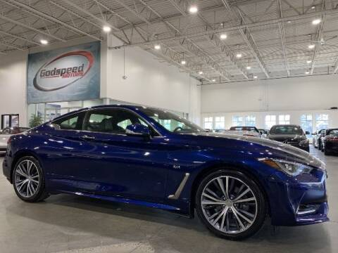 2017 Infiniti Q60 for sale at Godspeed Motors in Charlotte NC