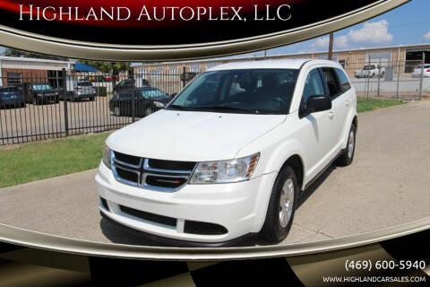 2012 Dodge Journey for sale at Highland Autoplex, LLC in Dallas TX