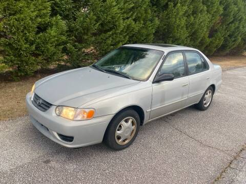 2001 Toyota Corolla for sale at Front Porch Motors Inc. in Conyers GA