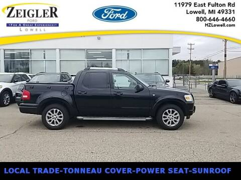 2007 Ford Explorer Sport Trac for sale at Zeigler Ford of Plainwell- Jeff Bishop in Plainwell MI