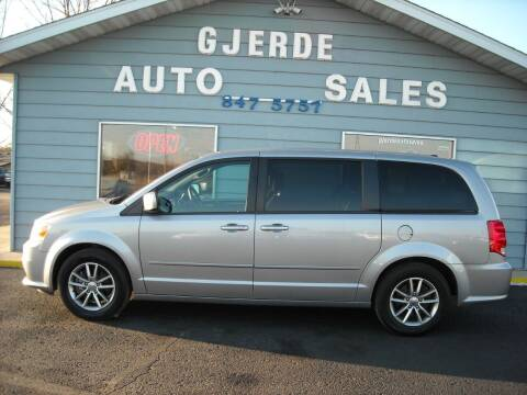 2016 Dodge Grand Caravan for sale at GJERDE AUTO SALES in Detroit Lakes MN