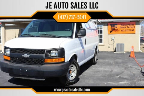 2013 Chevrolet Express Cargo for sale at JE AUTO SALES LLC in Webb City MO