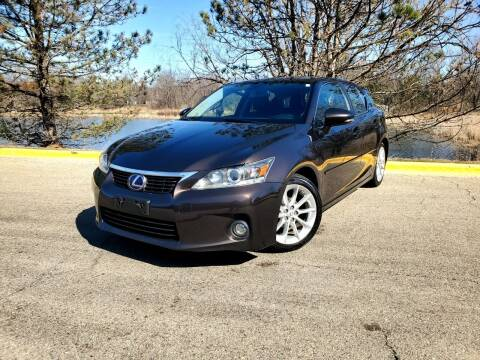 2013 Lexus CT 200h for sale at Excalibur Auto Sales in Palatine IL