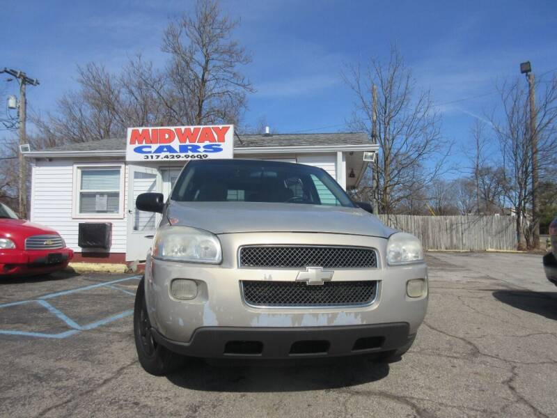2008 Chevrolet Uplander for sale at Midway Cars LLC in Indianapolis IN