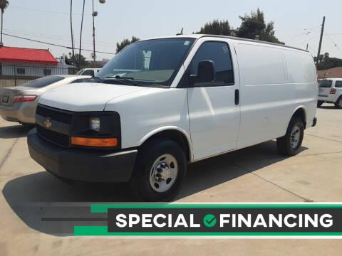 2014 Chevrolet Express Cargo for sale at DOYONDA AUTO SALES in Pomona CA