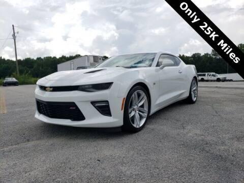 2017 Chevrolet Camaro for sale at Hardy Auto Resales in Dallas GA