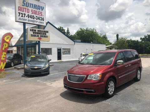2011 Chrysler Town and Country for sale at Sunray Auto Sales Inc. in Holiday FL