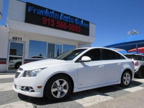 2012 Chevrolet Cruze for sale at Franklin Auto Sales in El Paso TX