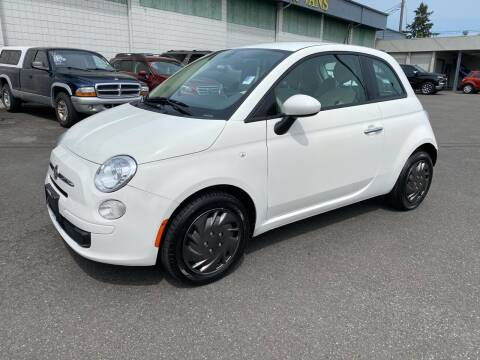 2016 FIAT 500 for sale at Vista Auto Sales in Lakewood WA