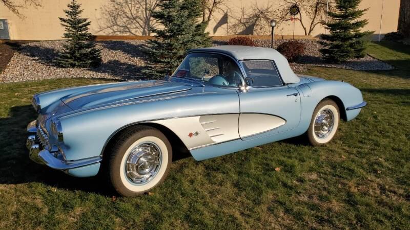 1960 Chevrolet Corvette for sale at ADA Motorwerks in Green Bay WI