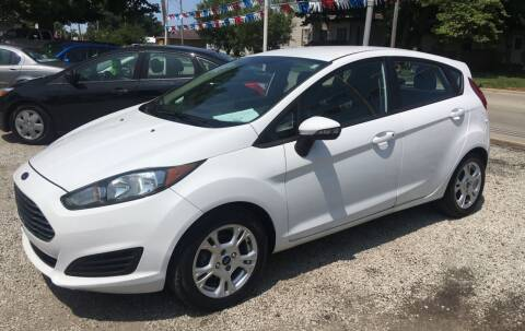 2014 Ford Fiesta for sale at Antique Motors in Plymouth IN