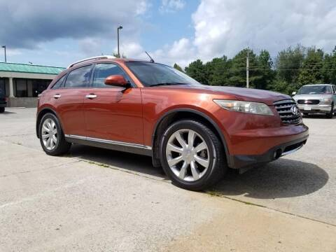 2007 Infiniti FX35 for sale at Tennessee Valley Wholesale Autos LLC in Huntsville AL