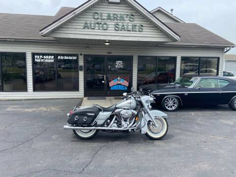 2004 HarelyDavidson Roadking for sale at Clarks Auto Sales in Middletown OH
